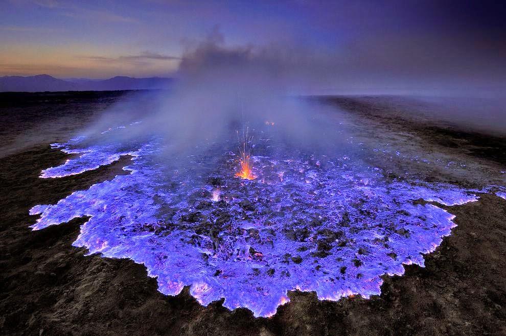 イジェン火山1