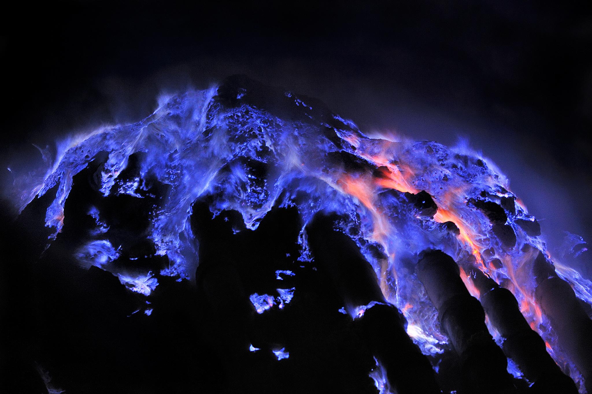 イジェン火山2