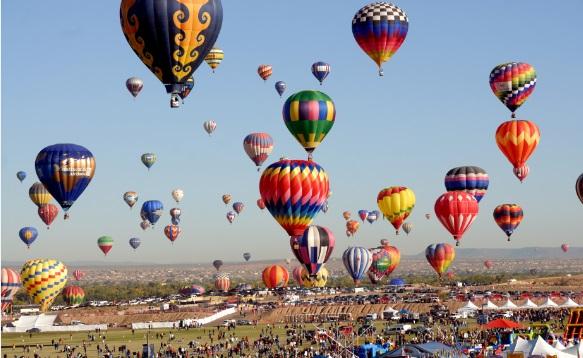 アメリカ気球祭り1