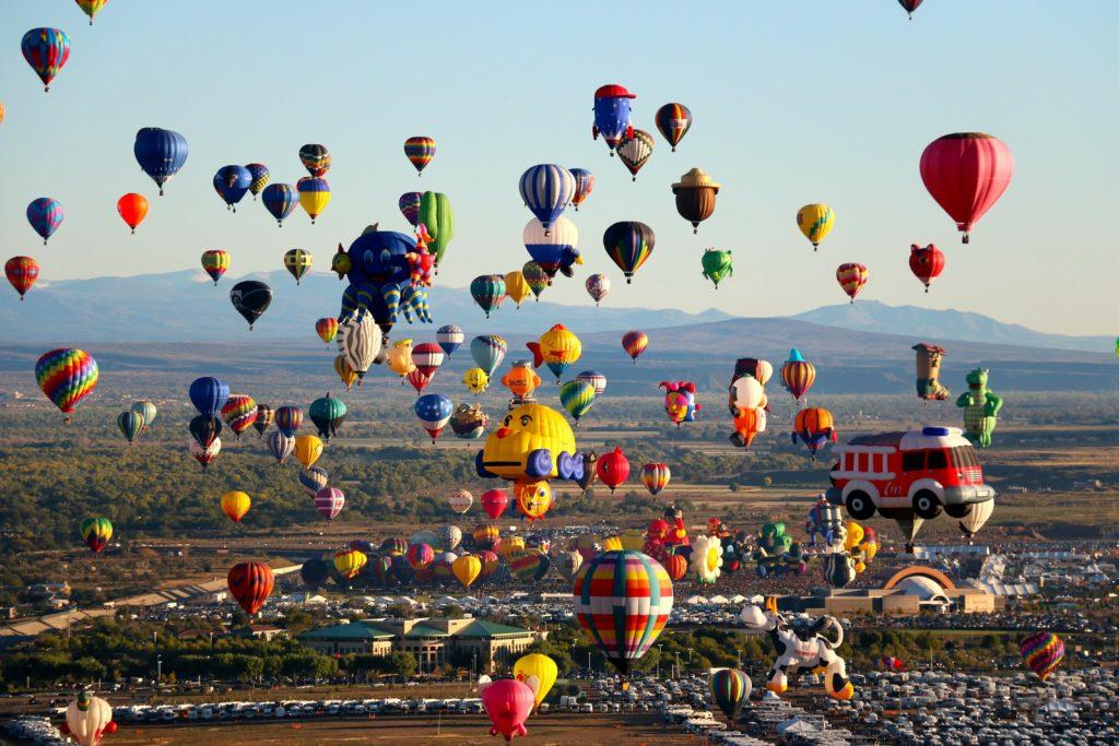 アメリカ気球祭り2