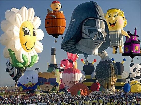 アメリカ気球祭り4