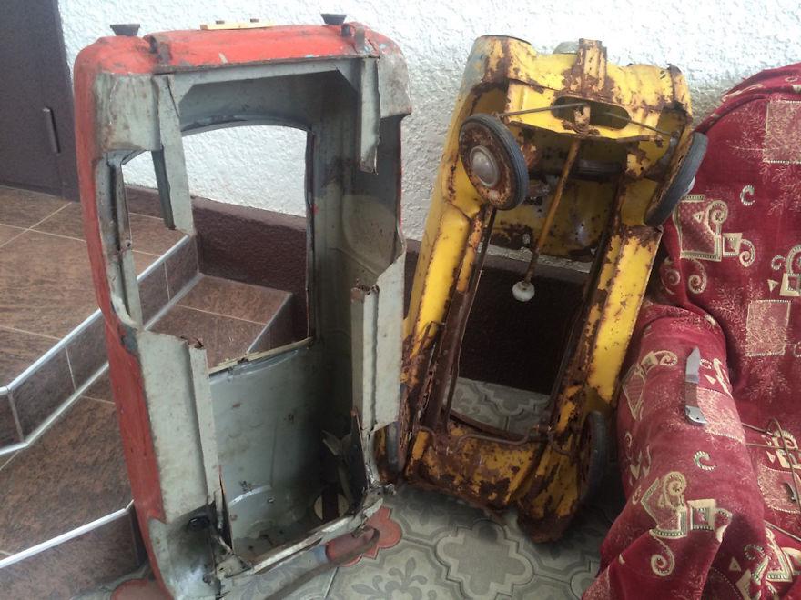 ペダルカー修復5