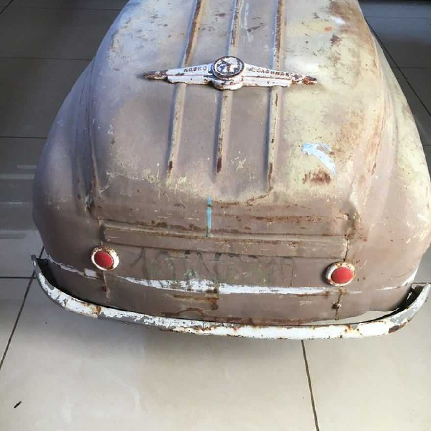 ペダルカー修復14