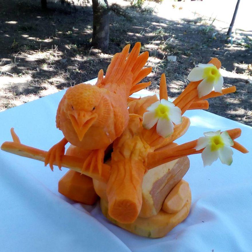 かぼちゃ彫刻11