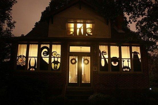 ハロウィン飾り付け 家15