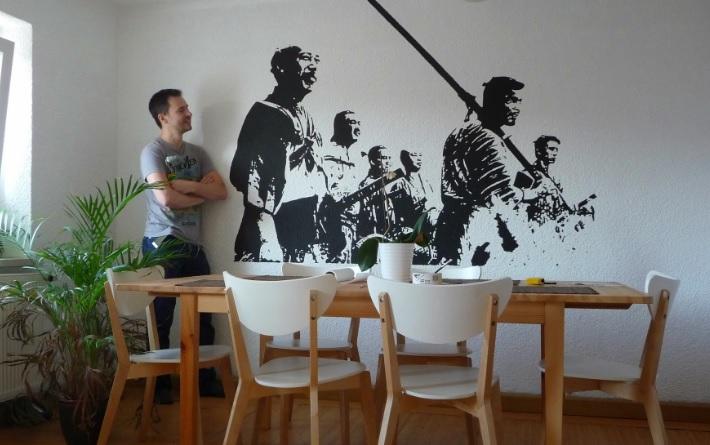 壁 塗装1