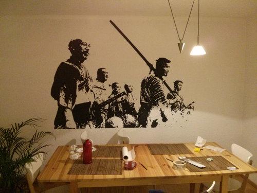壁 塗装10