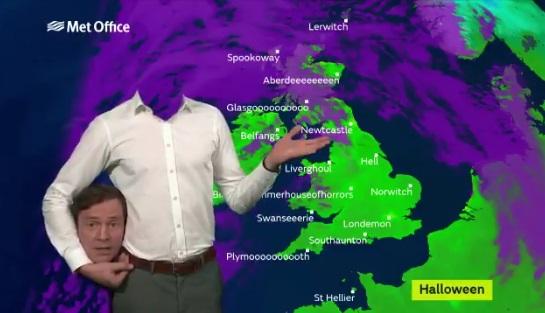 イギリス天気予報1