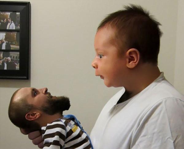 顔交換アプリ 赤ちゃん7