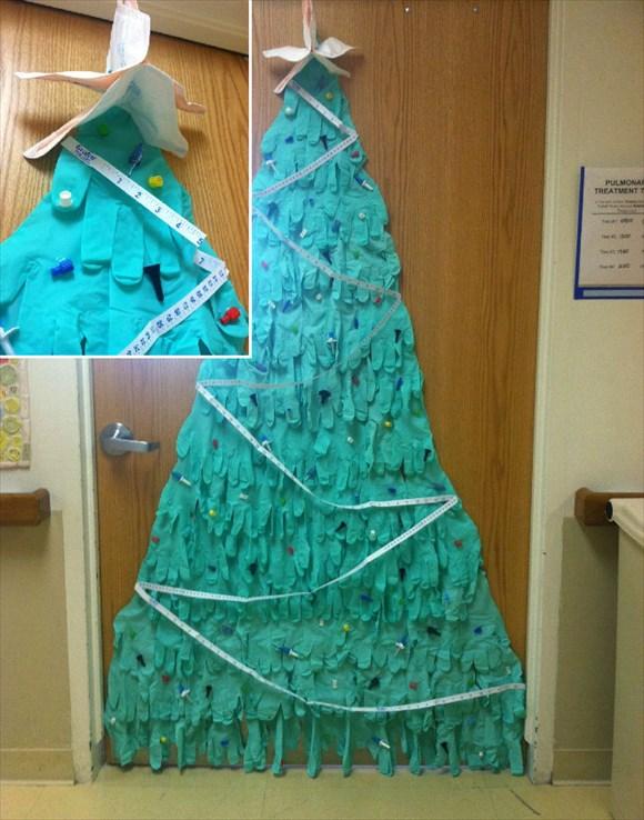 病院 クリスマスデコレーション8