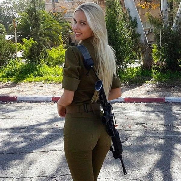 イスラエル 美人兵士4