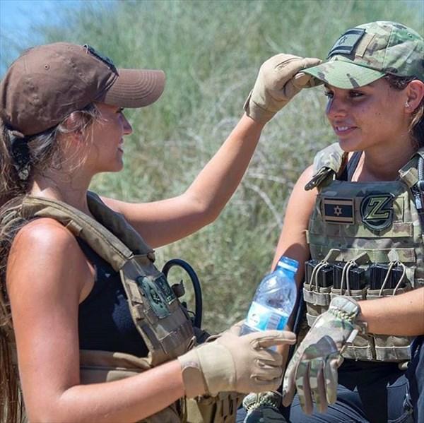 イスラエル 美人兵士14