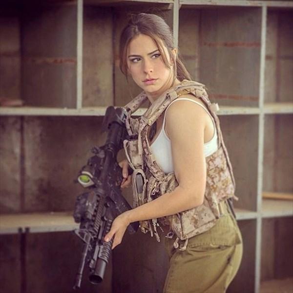 イスラエル 美人兵士2
