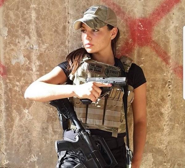 イスラエル 美人兵士13