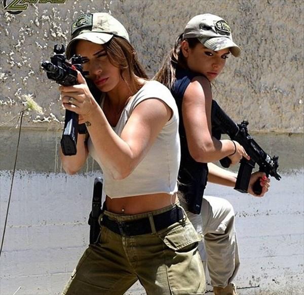 イスラエル 美人兵士9