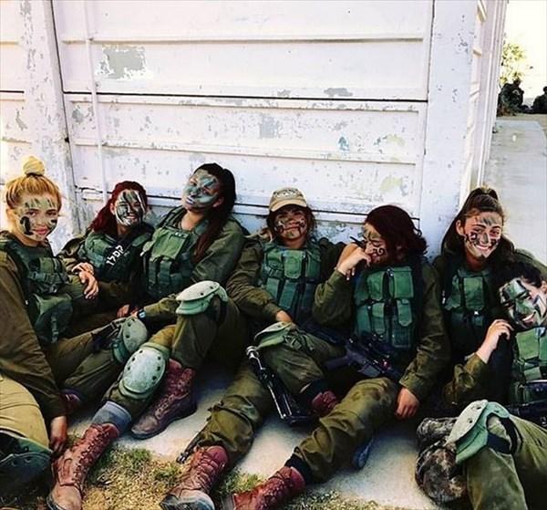 イスラエル 美人兵士18