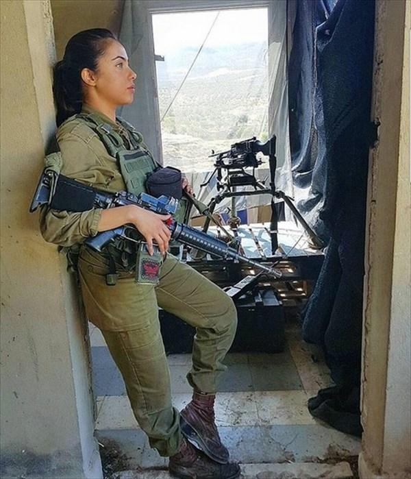 イスラエル 美人兵士17