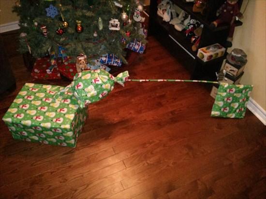 クリスマスプレゼント 中身何1