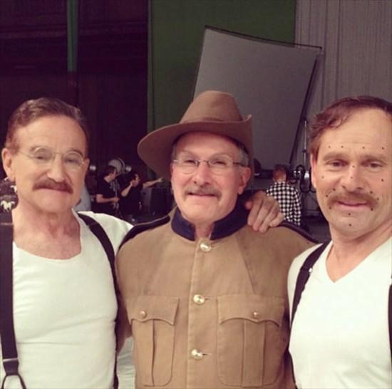ハリウッド俳優とスタントマン 写真7