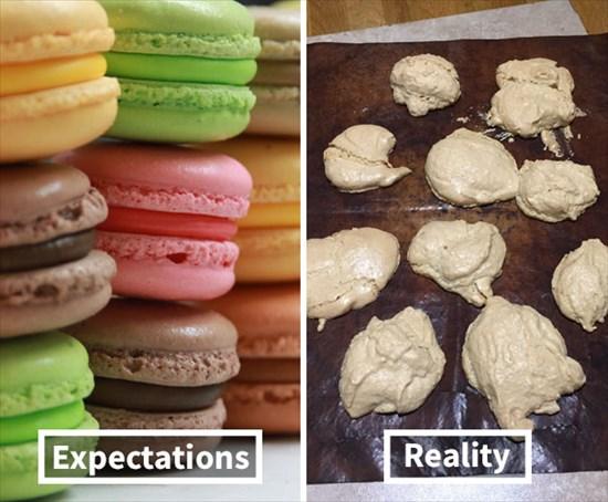 お菓子作り 失敗作2