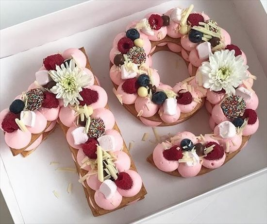 数字 誕生日ケーキ8
