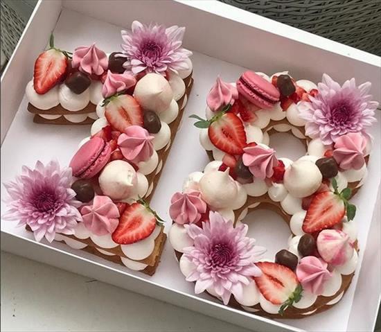 数字 誕生日ケーキ2