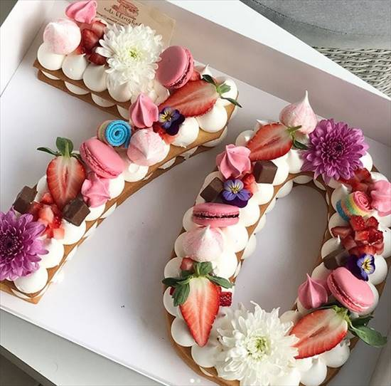 数字 誕生日ケーキ5