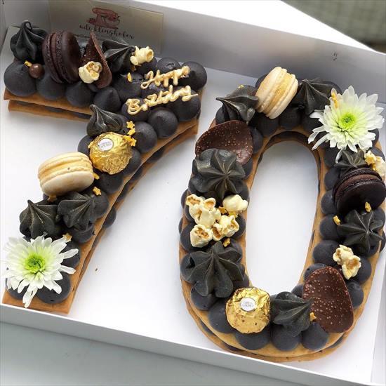 数字 誕生日ケーキ4