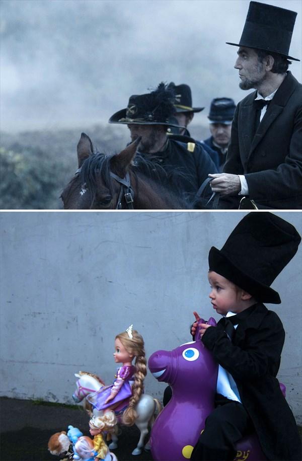リンカーン 再現写真