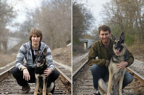 子供が生まれたら犬を飼いなさい 子供と犬の写真13