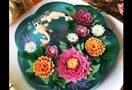 3Dゼリーケーキ 写真1