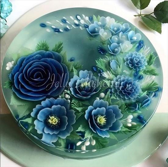 3Dゼリーケーキ 写真4