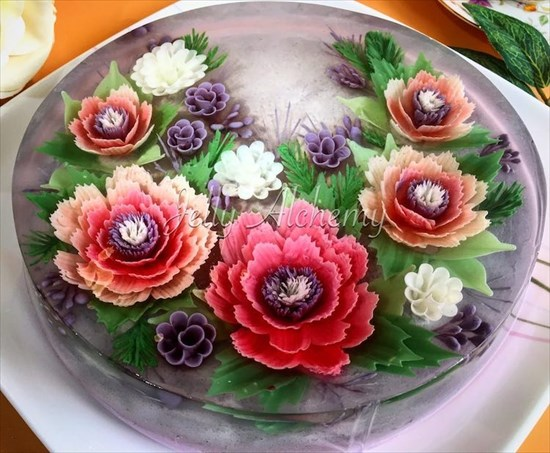 3Dゼリーケーキ 写真7