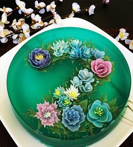 3Dゼリーケーキ 写真9
