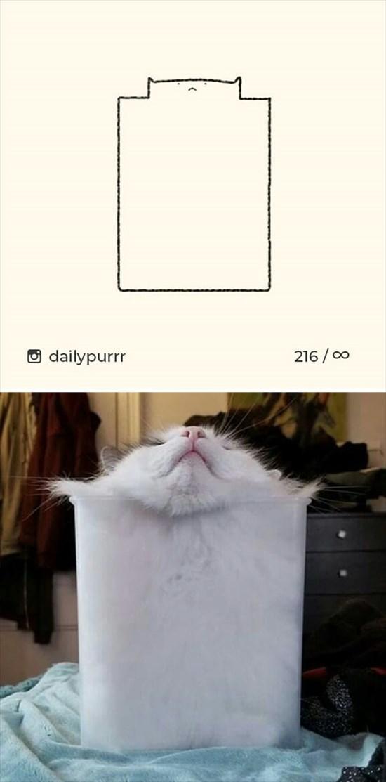 シンプルな猫のイラスト 9