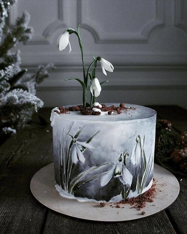 ロシアの美人パティシエが作るケーキ 9