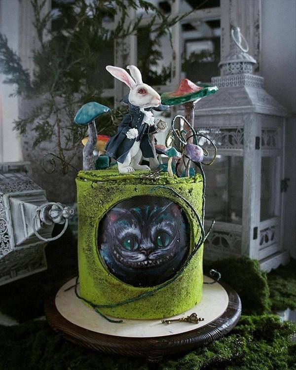 ロシアの美人パティシエが作るケーキ 14