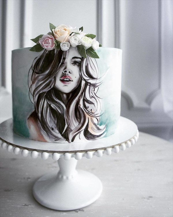 ロシアの美人パティシエが作るケーキ 16