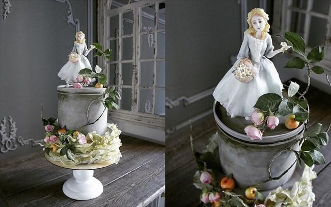 ロシアの美人パティシエが作るケーキ 21