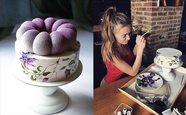 ロシアの美人パティシエが作るケーキ 18