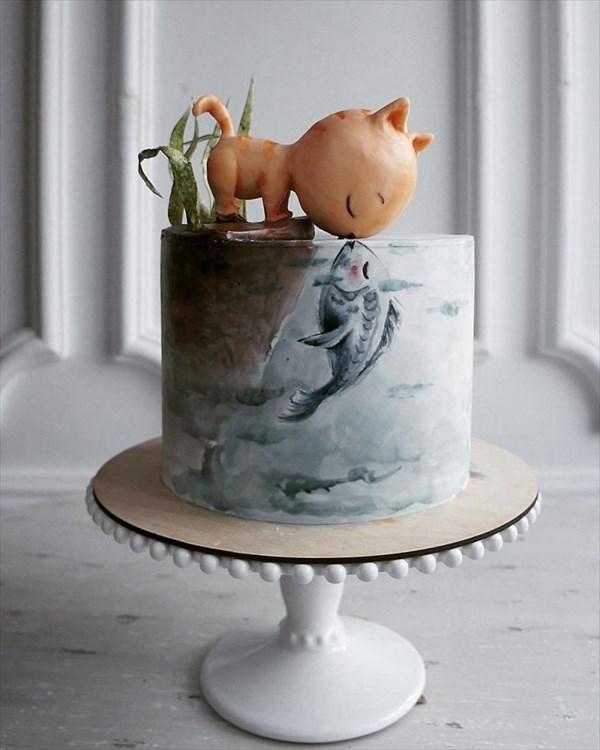 ロシアの美人パティシエが作るケーキ 3