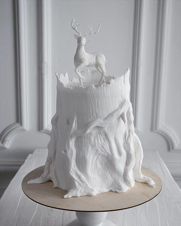 ロシアの美人パティシエが作るケーキ 4
