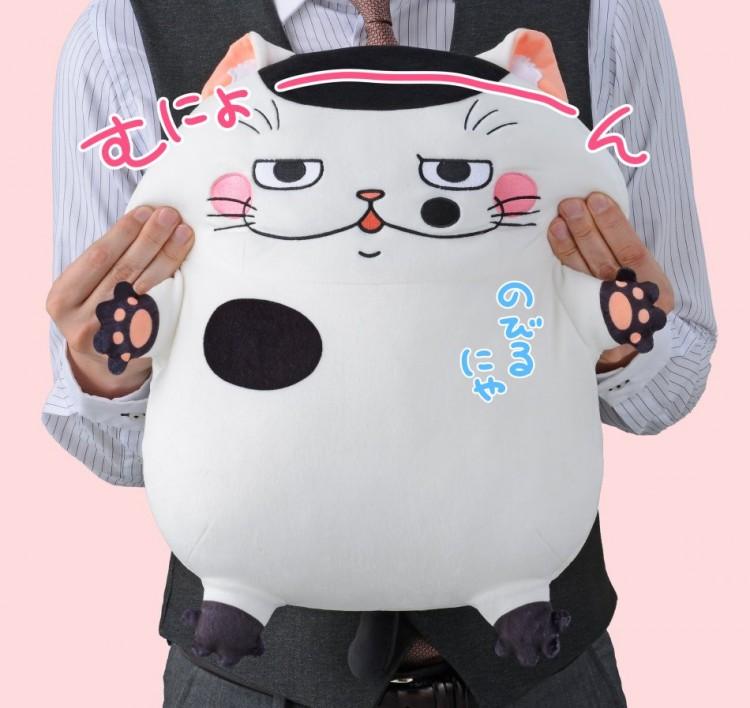 「おじさまと猫」ふくまるの等身大ぬいぐるみ発売決定!3