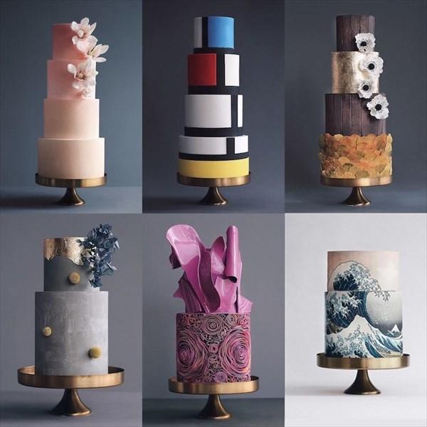 パティシエ姉弟が作る、芸術的で華やかなタワーケーキ1