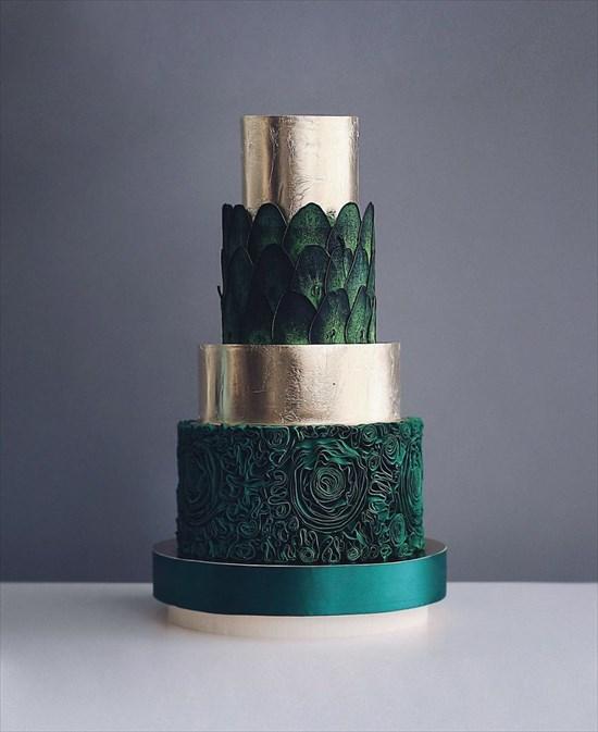 パティシエ姉弟が作る、芸術的で華やかなタワーケーキ11