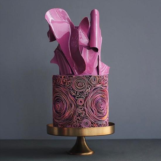 パティシエ姉弟が作る、芸術的で華やかなタワーケーキ9