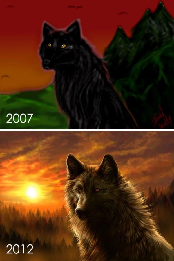 昔描いた絵を今描いてみた 18