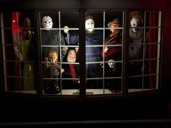ハロウィンの装飾が怖すぎる家 写真23