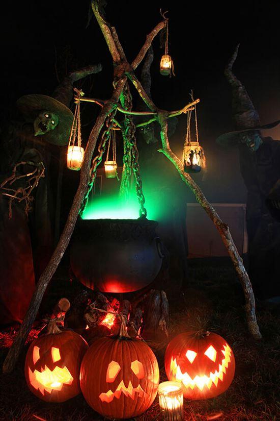 ハロウィンの装飾が怖すぎる家 写真20