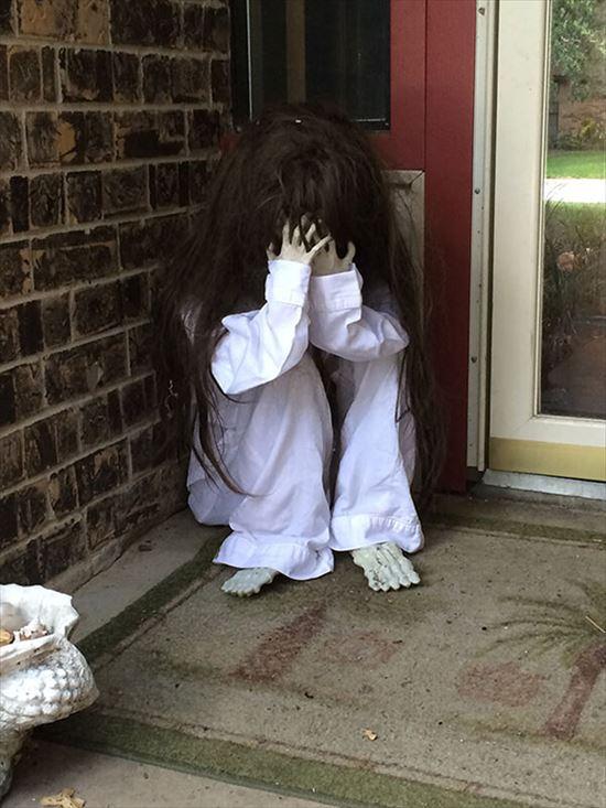 ハロウィンの装飾が怖すぎる家 写真5